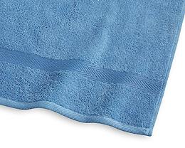 Frotté 30x50 cm blå